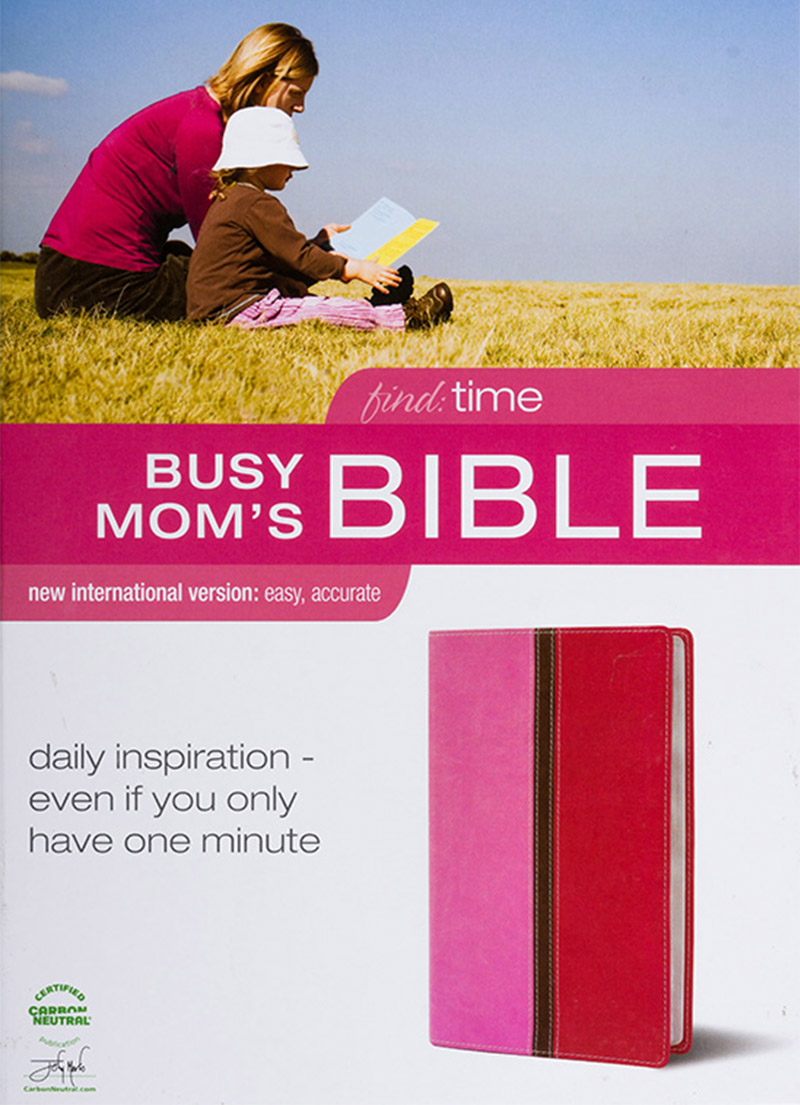 NIV Busy Mom's Pink Bible - Bibles - LifeSource Bookshop