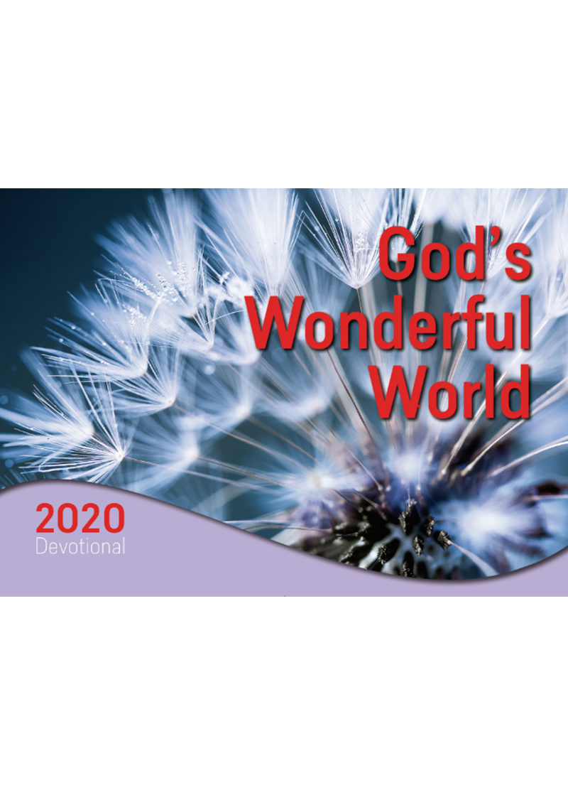 God's Wonderful World 2020 Devotional