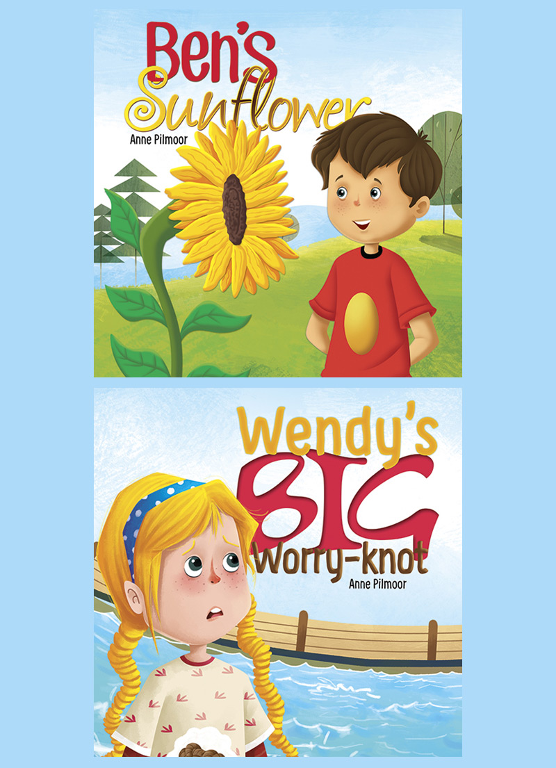 Ben's Sunflower / Wendy's Big Worry Knot 2 in 1 Book