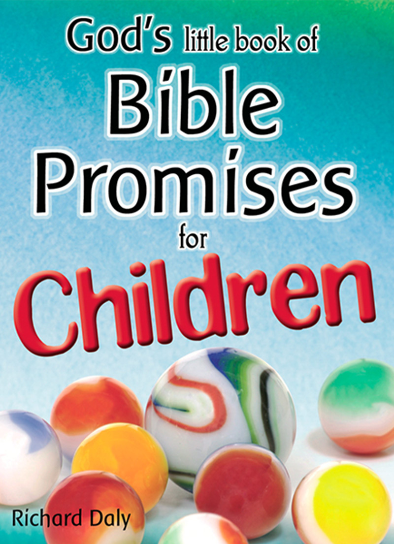 God's Little Book of Bible Promises for Children