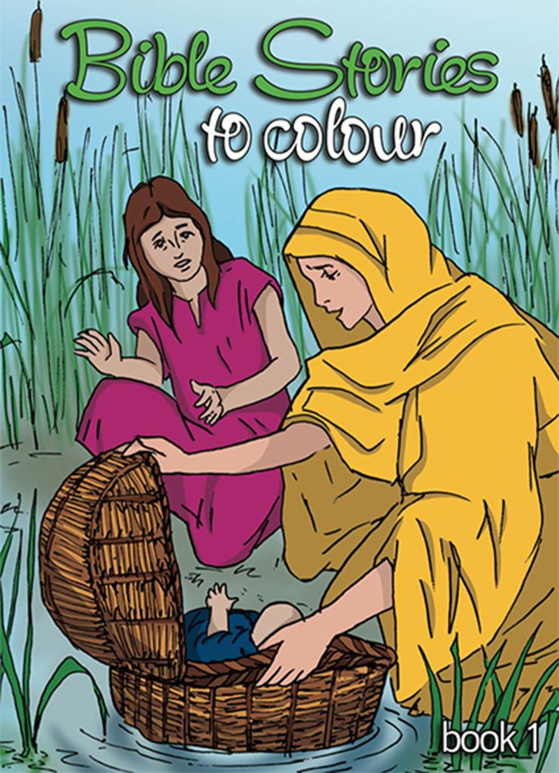 Bible Stories to Colour - Colouring Books
