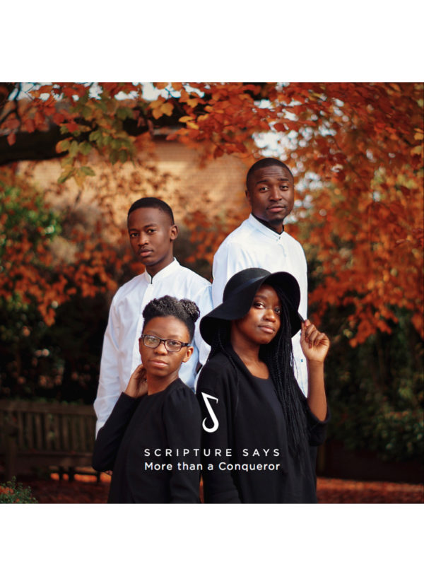 Debut album from acapella vocal group Scripture Says with twelve brand new gospel songs.