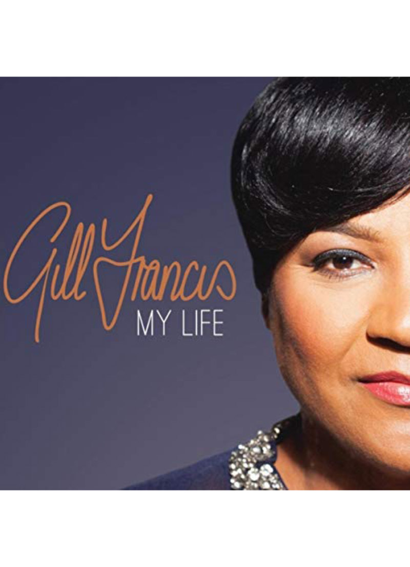Female Soloist Gill Francis, with a contemporary gospel sound. Punchy original tracks produced by Mahlon Rhamie.