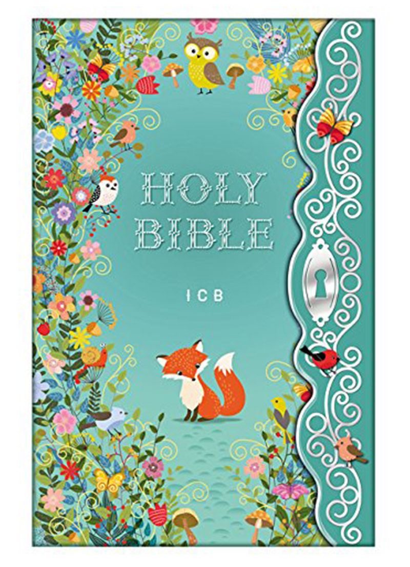 ICB Blessed Garden Bible (Hardcover) - Bibles