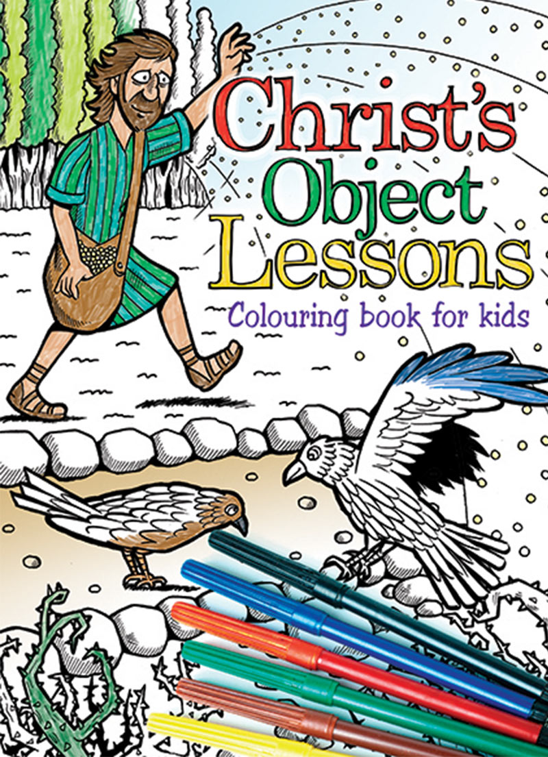 Christ Object Lessons - Colouring Book