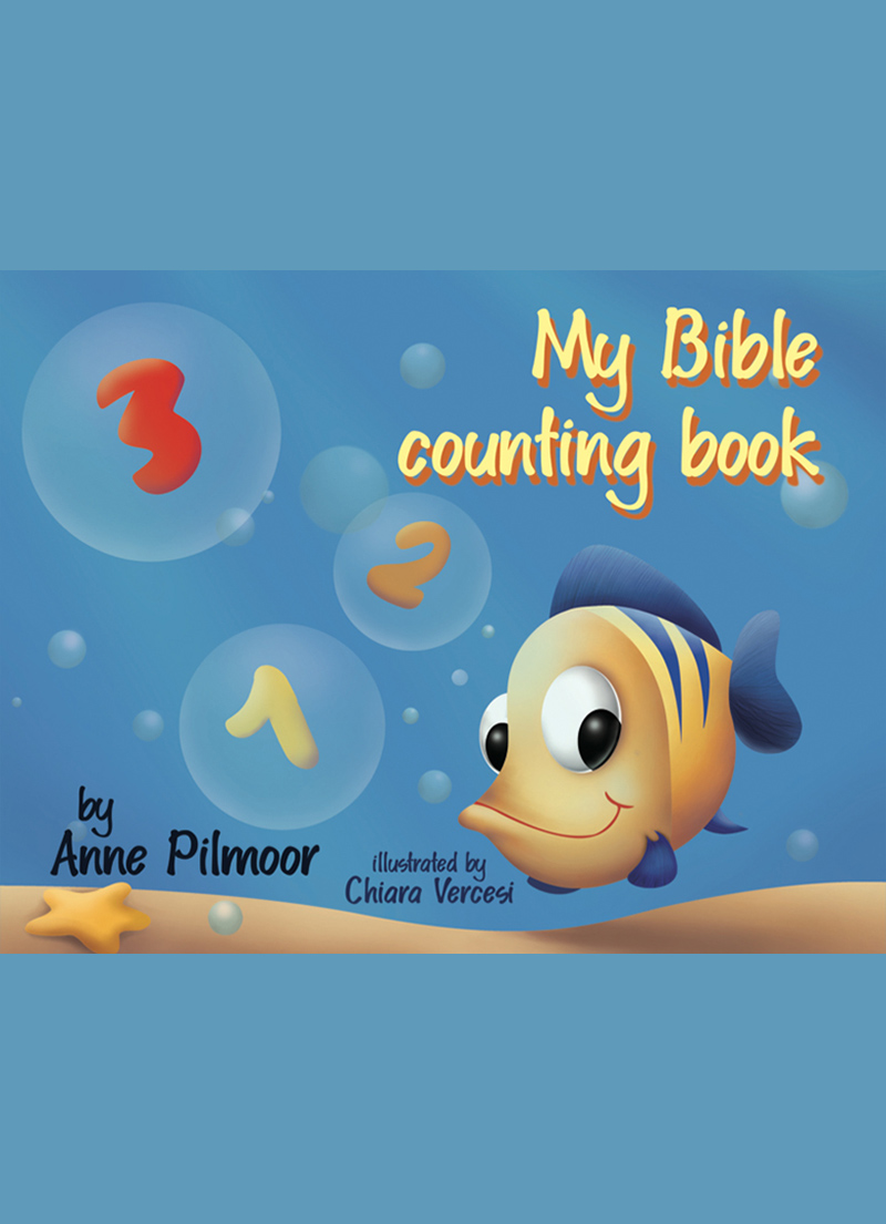 My Bible Counting Book - Story Book