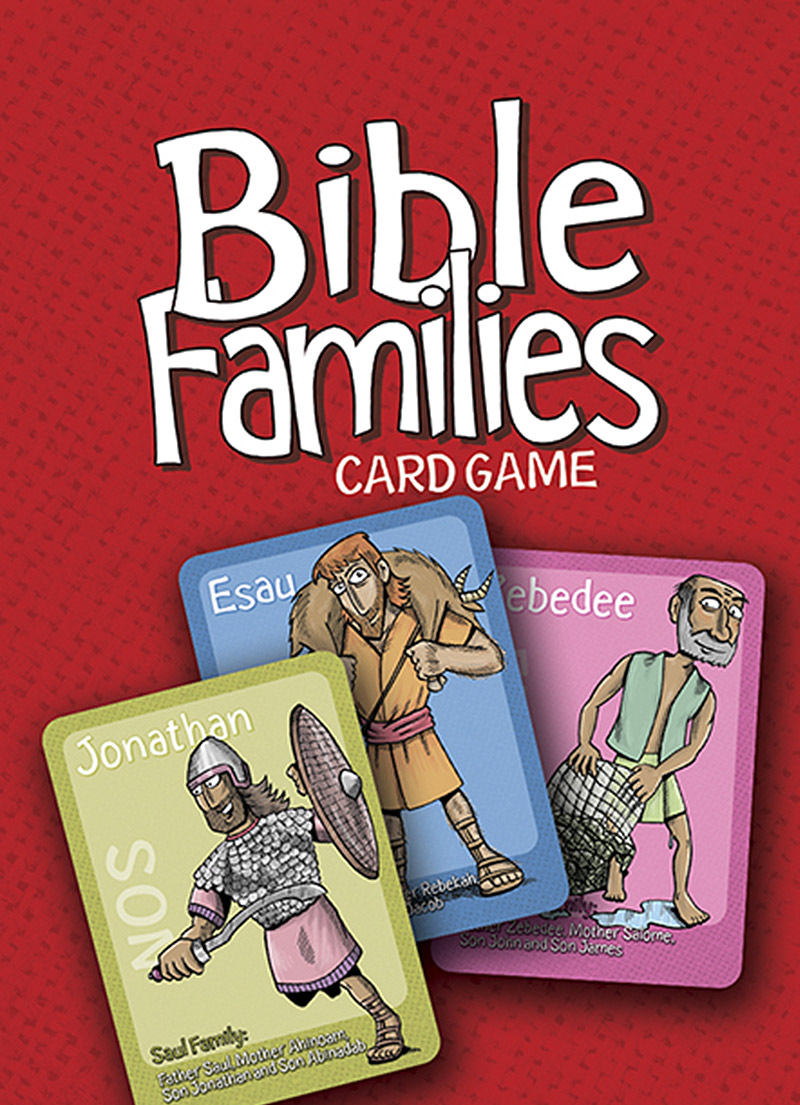 Bible Families Card Game - Children's Games