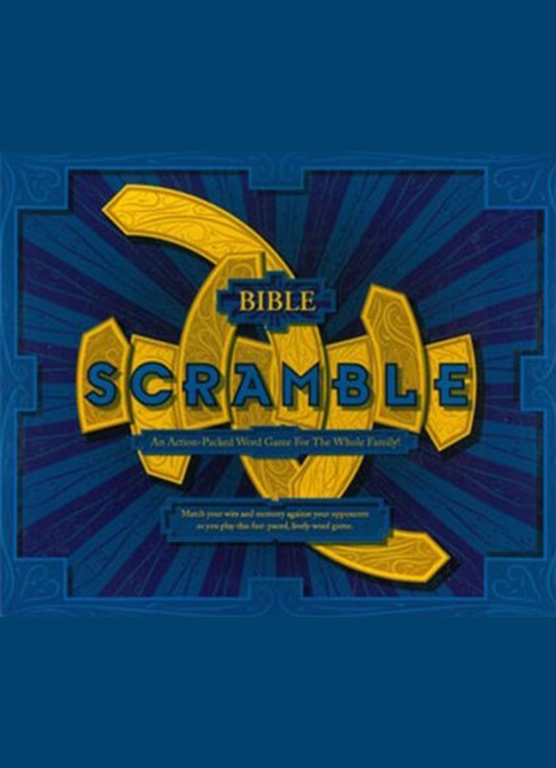 Bible Scramble - Children's Games
