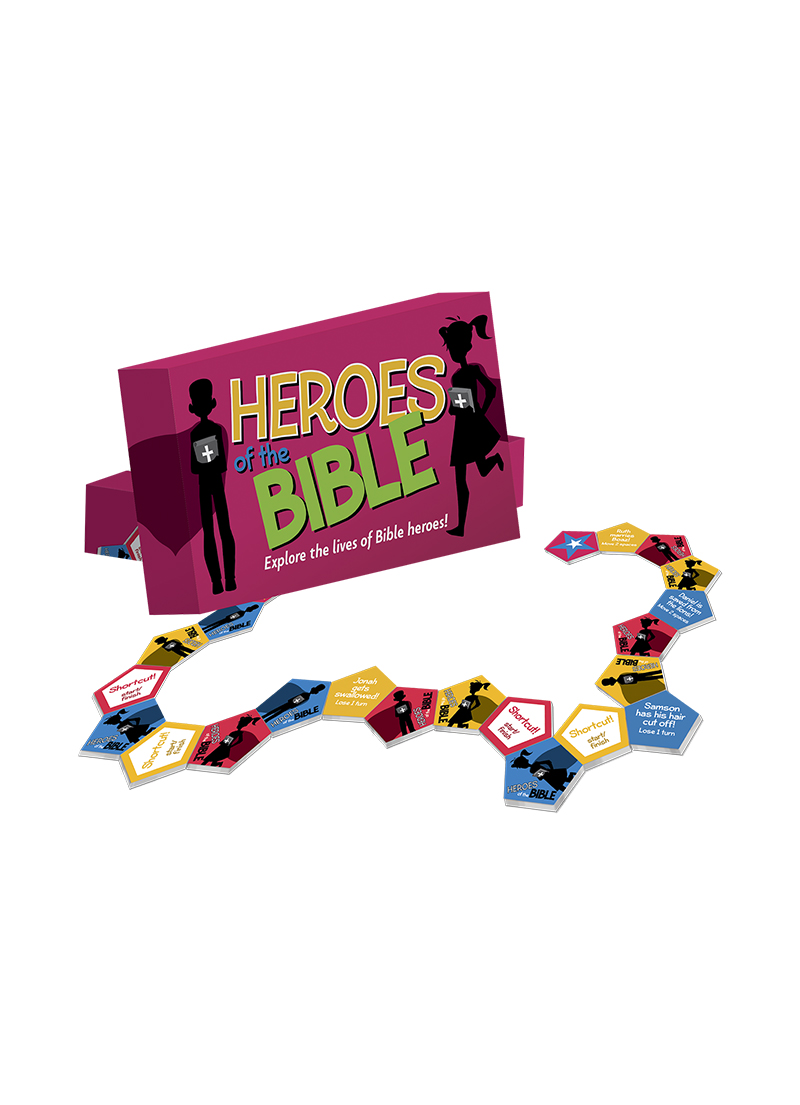 Heroes of the Bible - Children's Games