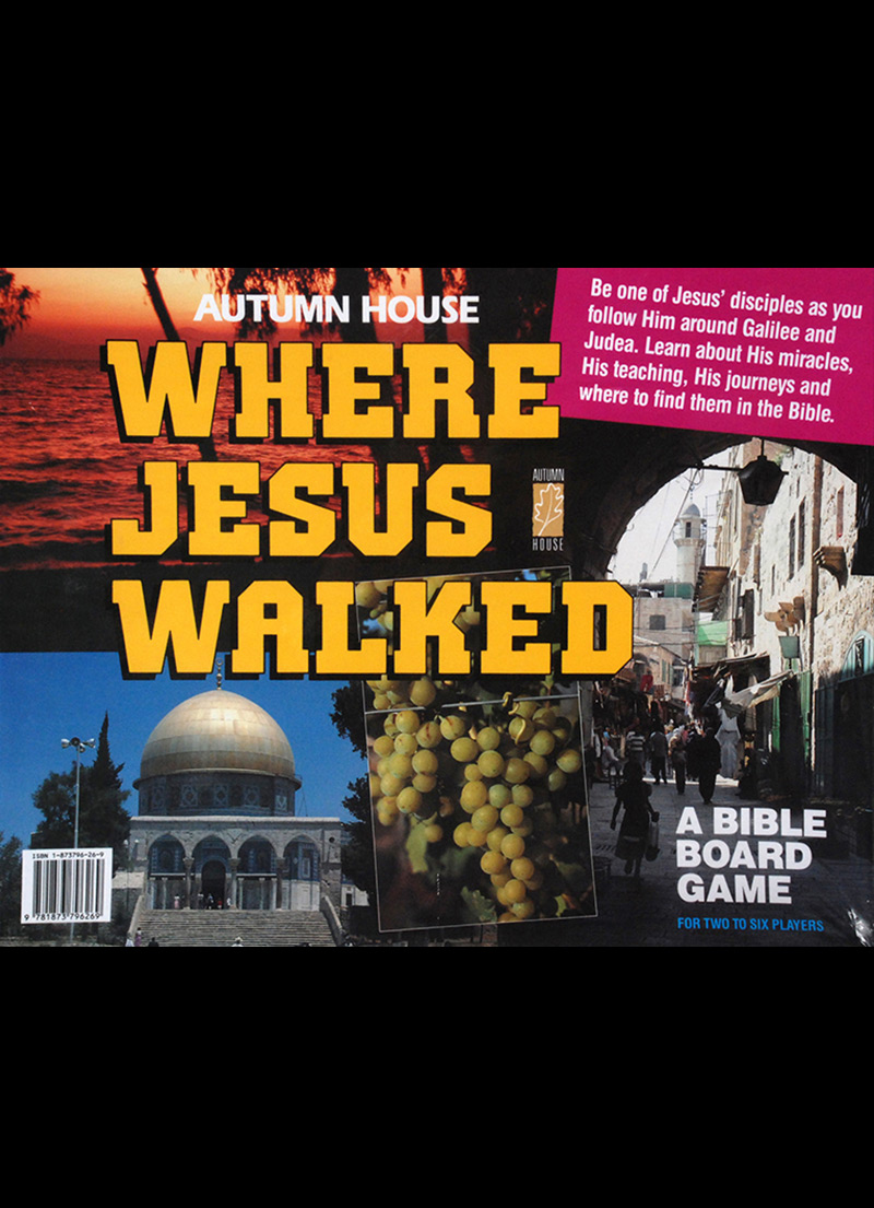 Where Jesus Walked - Christian Children's Games