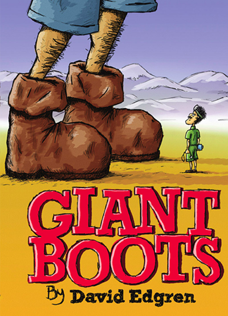 Giant Boots - Story Book - Children's Book