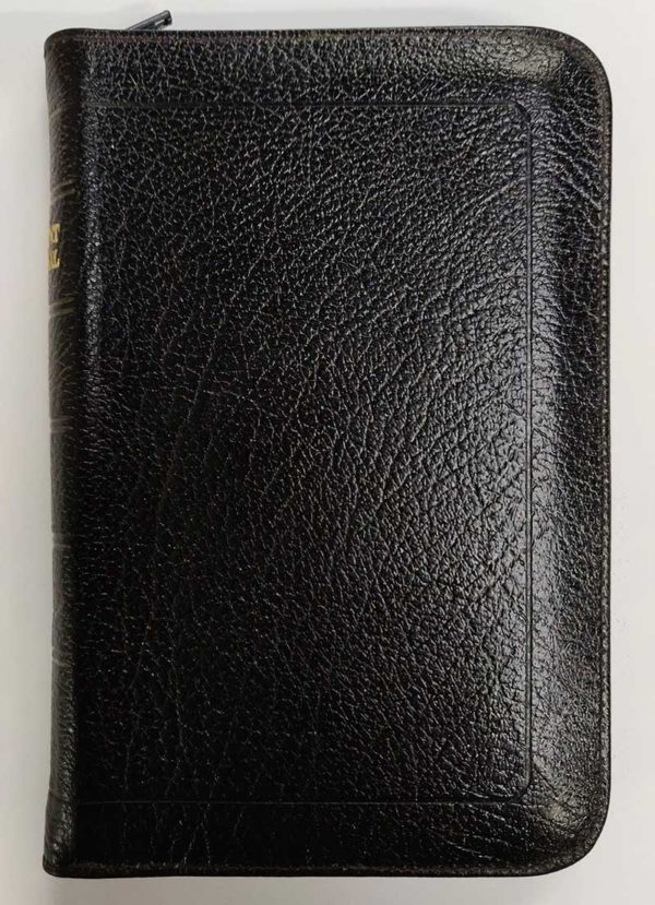 New Advent Hymnal Music Edition Leather Pocket Zip Cover