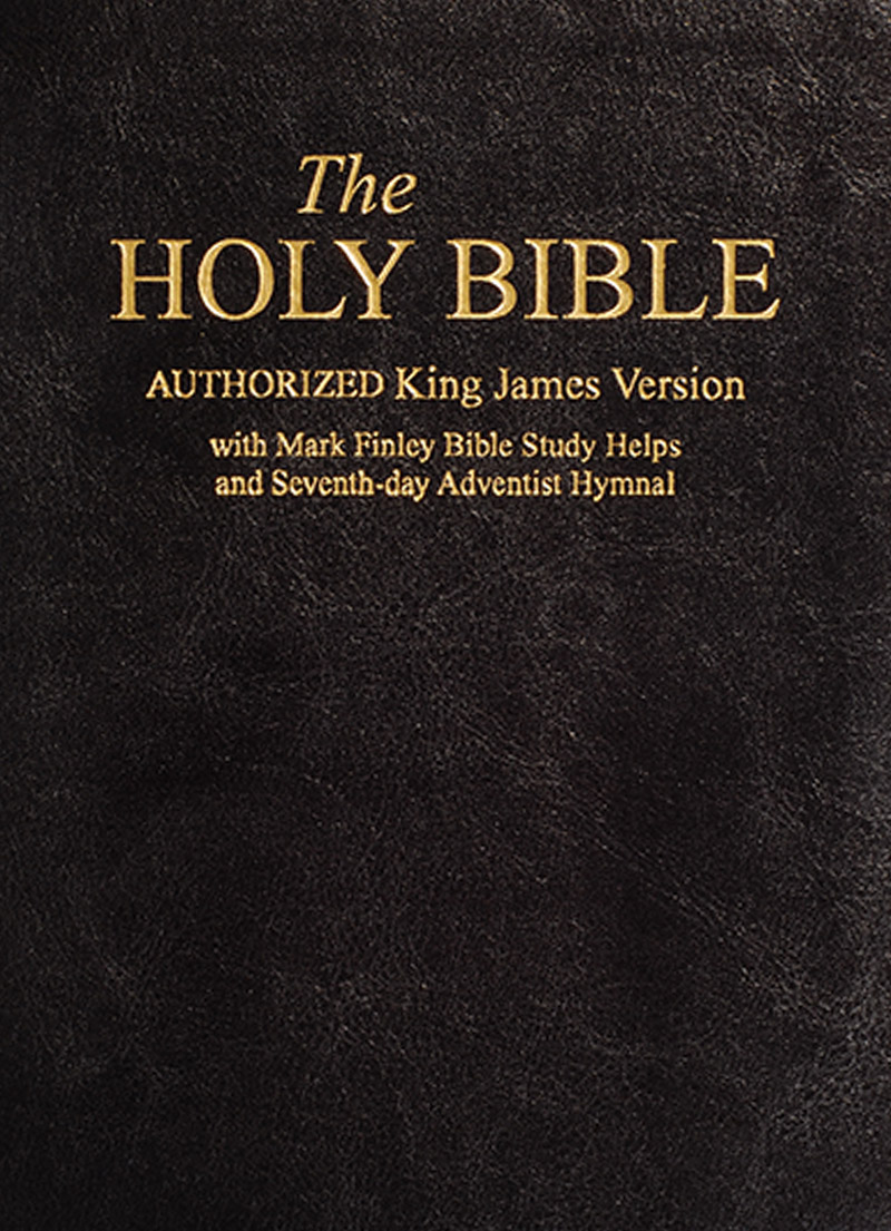 KJV Bible With Mark Finley Study Helps (With Integrated SDA Words Hymnal)