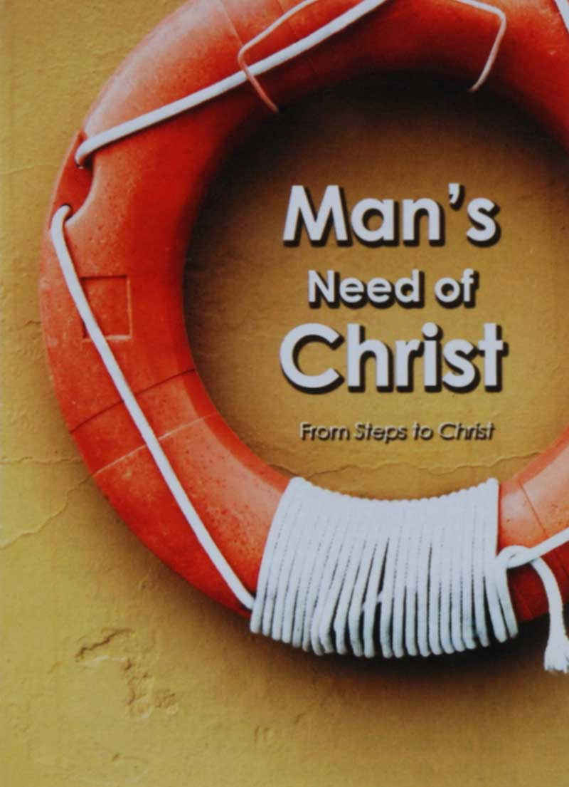 Man's Need of Christ Pack - Christian Books