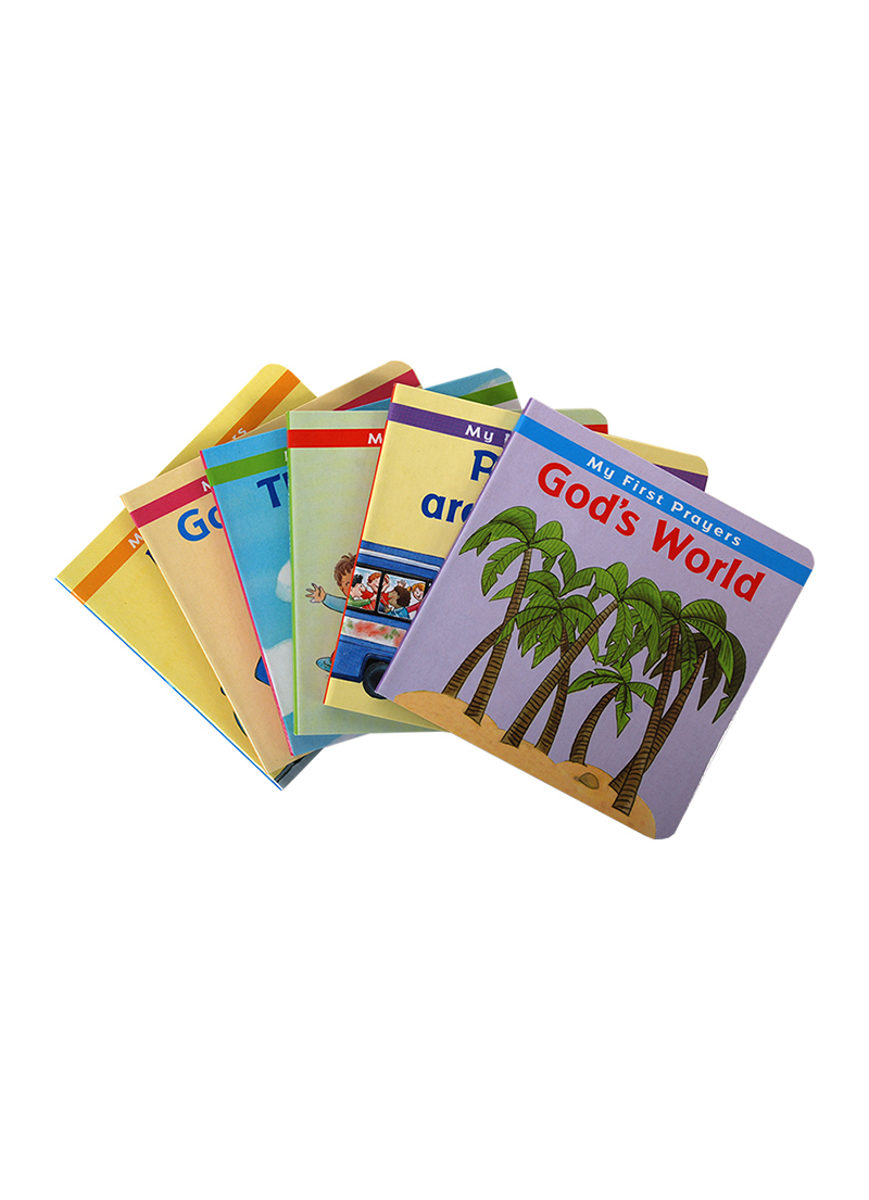My First Prayers (6 Book Set) - Children's Books