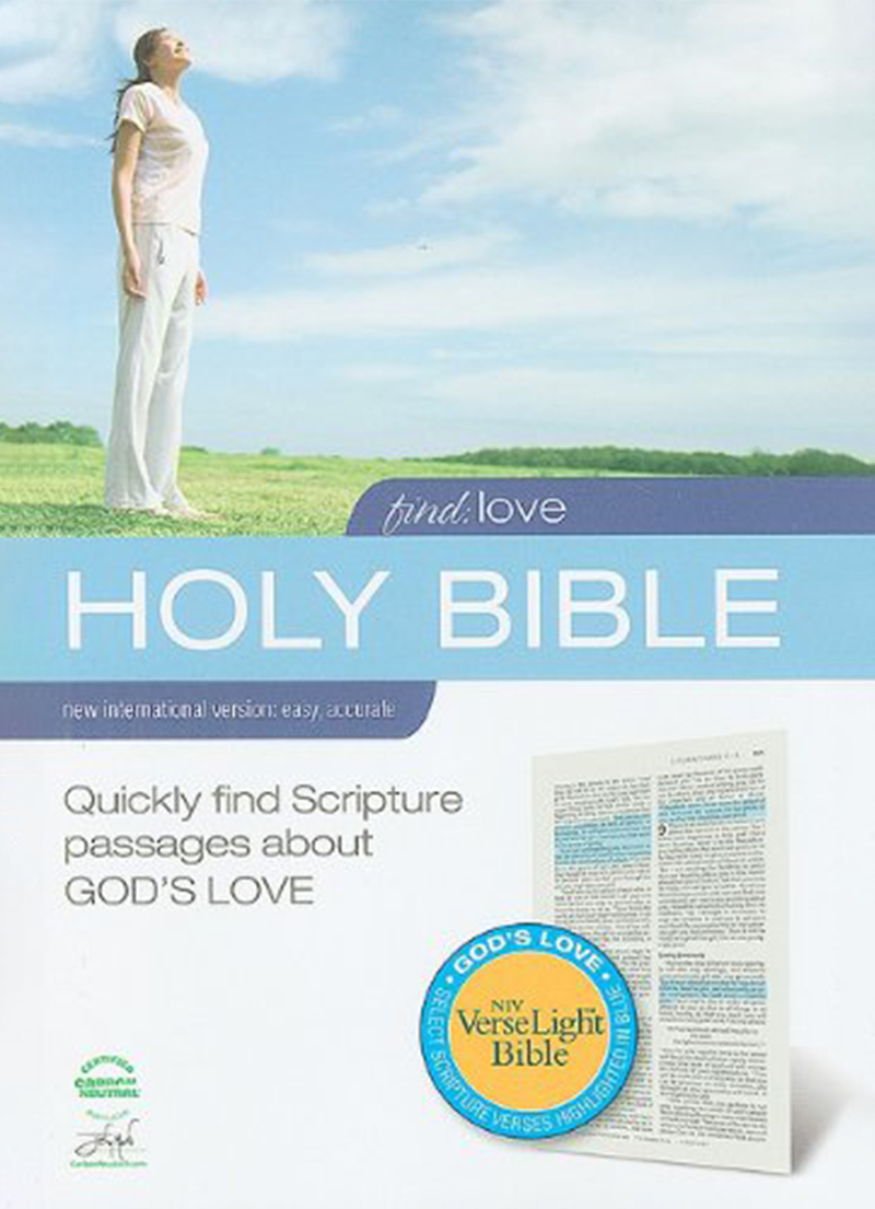 NIV Find Love (Hardcover) - Bibles
