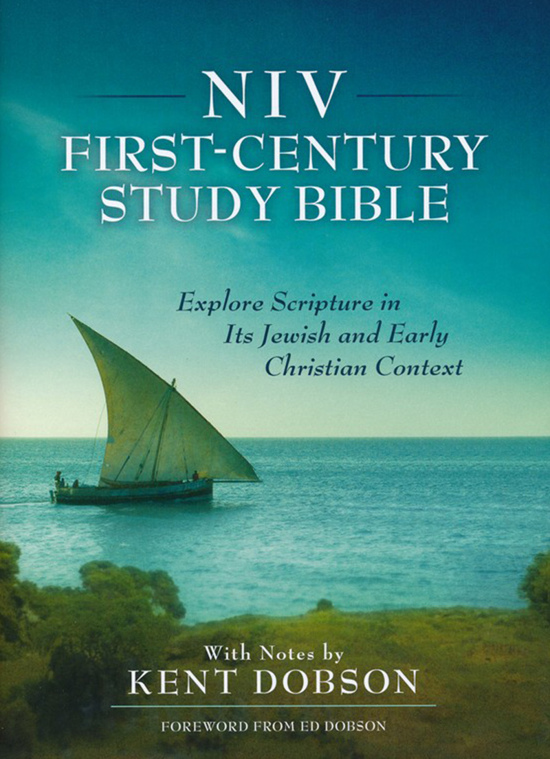 NIV First Century Study Bible (Hardcover) - Bibles