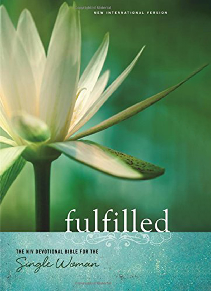 NIV Fulfilled Devotional Bible for Single Women (Hardcover)