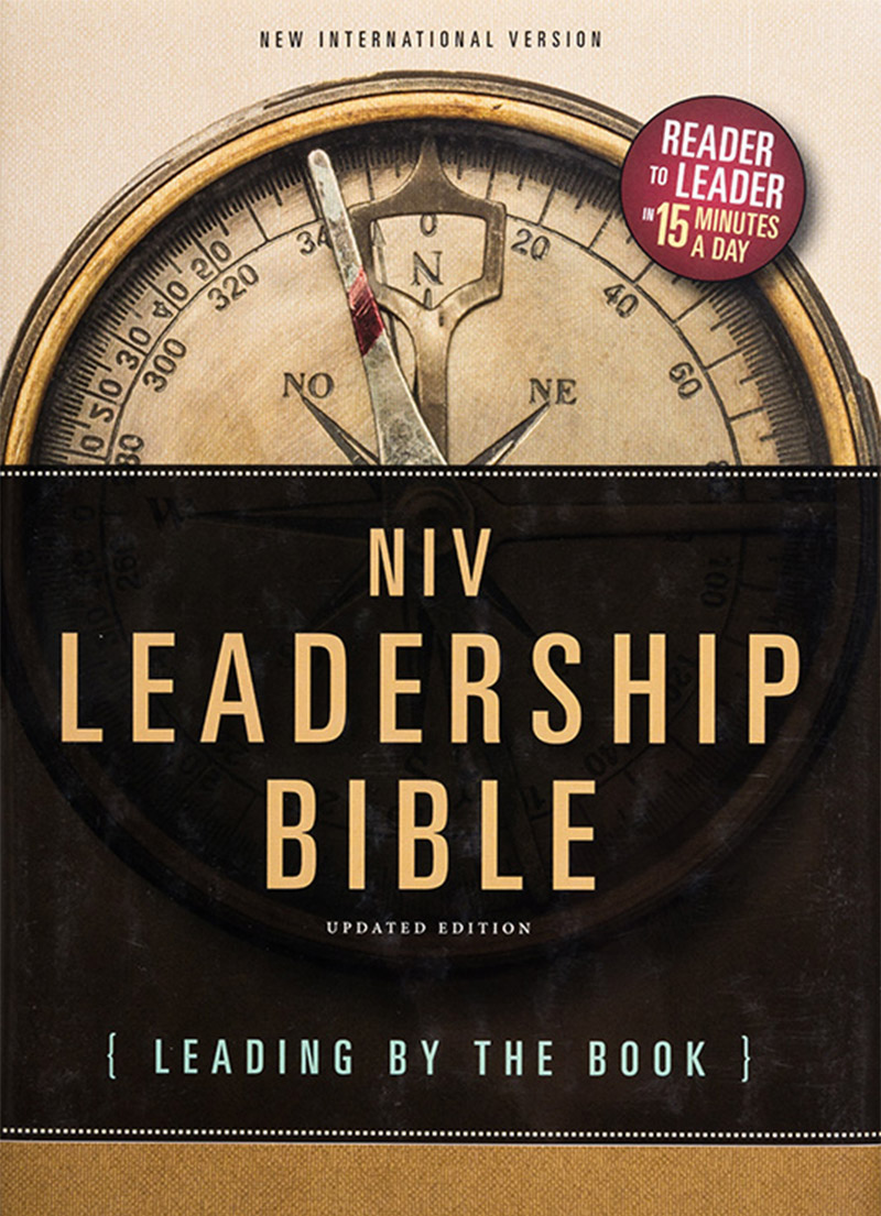 NIV Leadership Bible - Christian Books - Bibles
