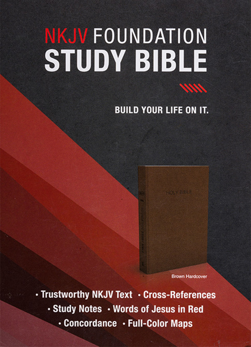 NKJV Foundation Study Bible - Bibles