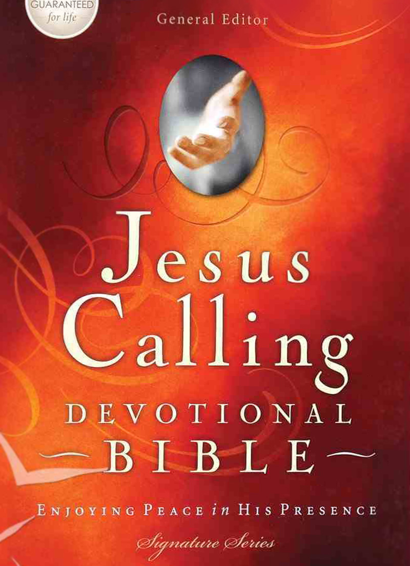 NKJV Jesus Calling Devotional Bible (Hardcover)