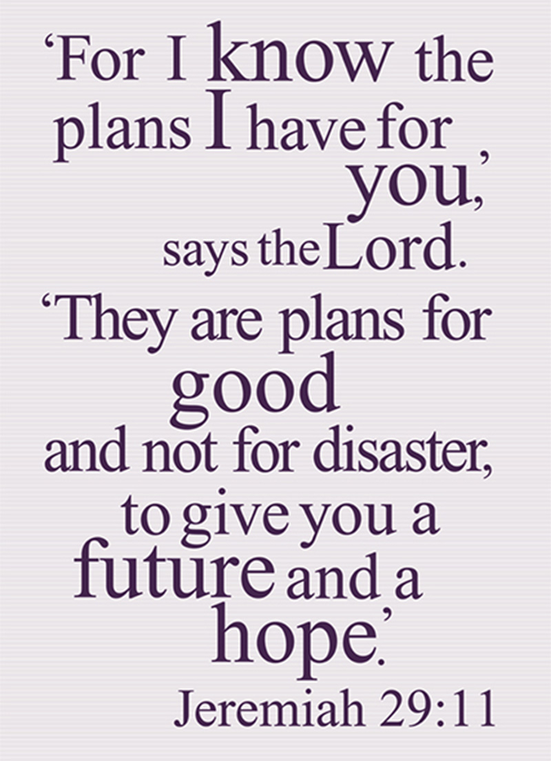 Prayer Journal: Plans for Good