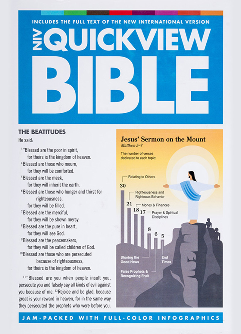 NIV Quickview Bible - Bibles - LifeSource Bookshop