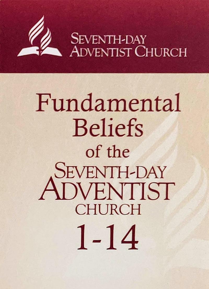 Seventh-Day Adventist Fundamental Beliefs Flashcards 1-14