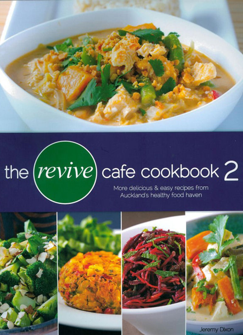 Revive Café Cookbook - Health Food Books