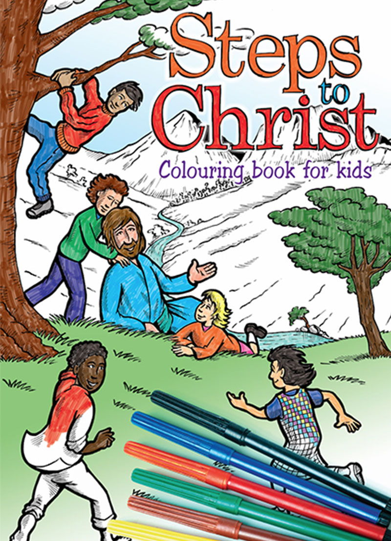 Steps to Christ - Colouring Book