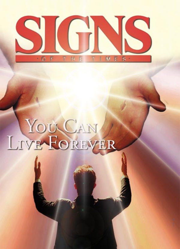 Pocket Signs - You Can Live Forever - Pack of 100