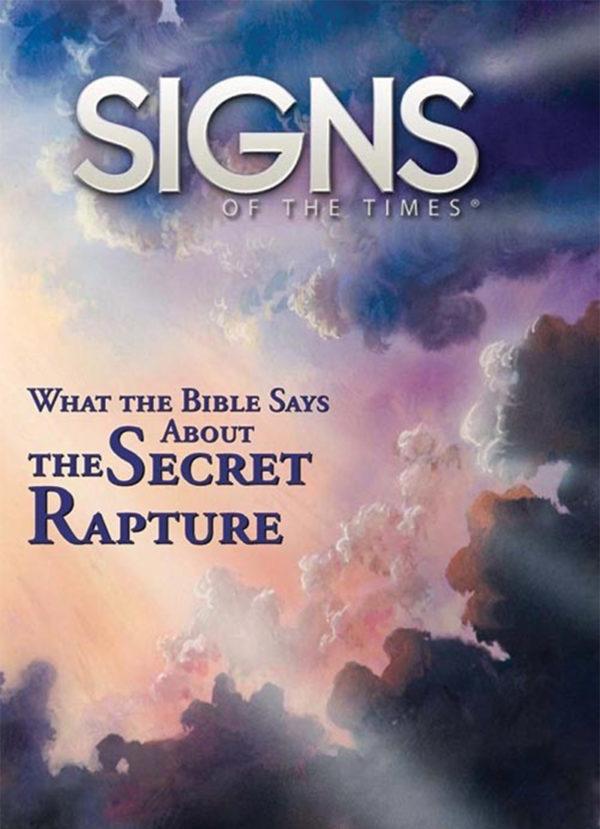 Pocket Signs - Secret Rapture - Pack of 100