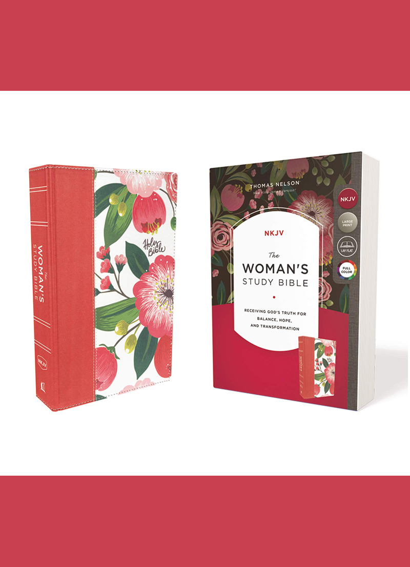 NKJV Woman's Study Bible (Floral Hardcover)