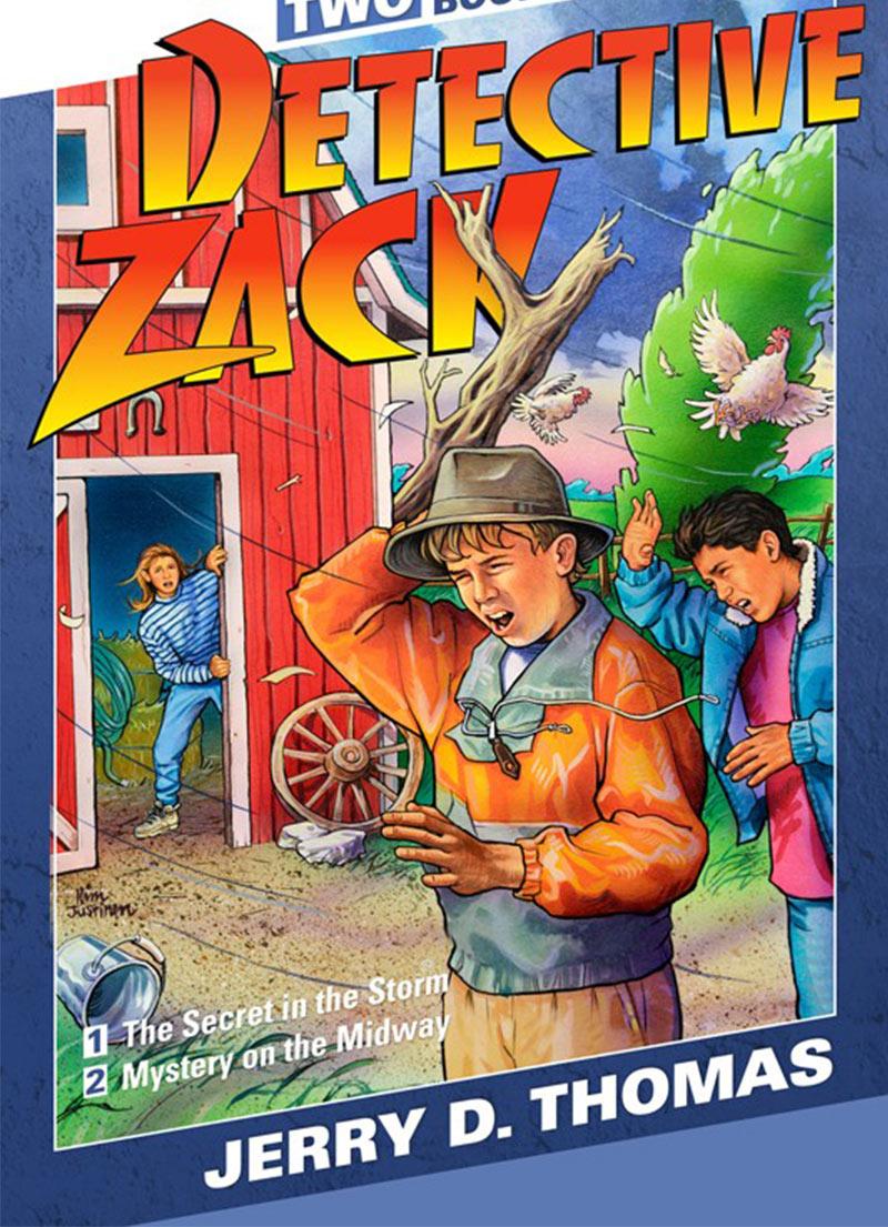 Detective Zack 2 in 1 Story Book